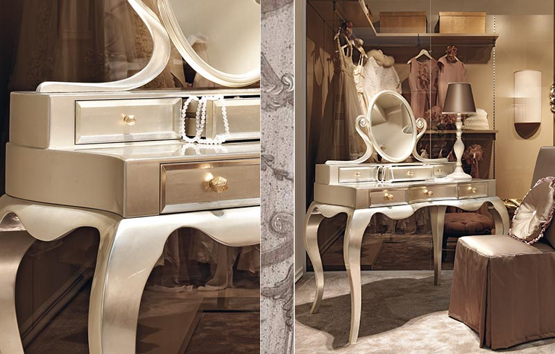kommoden modell rimmel toilettentisch mit spiegel messingbett rita sibbe. Black Bedroom Furniture Sets. Home Design Ideas