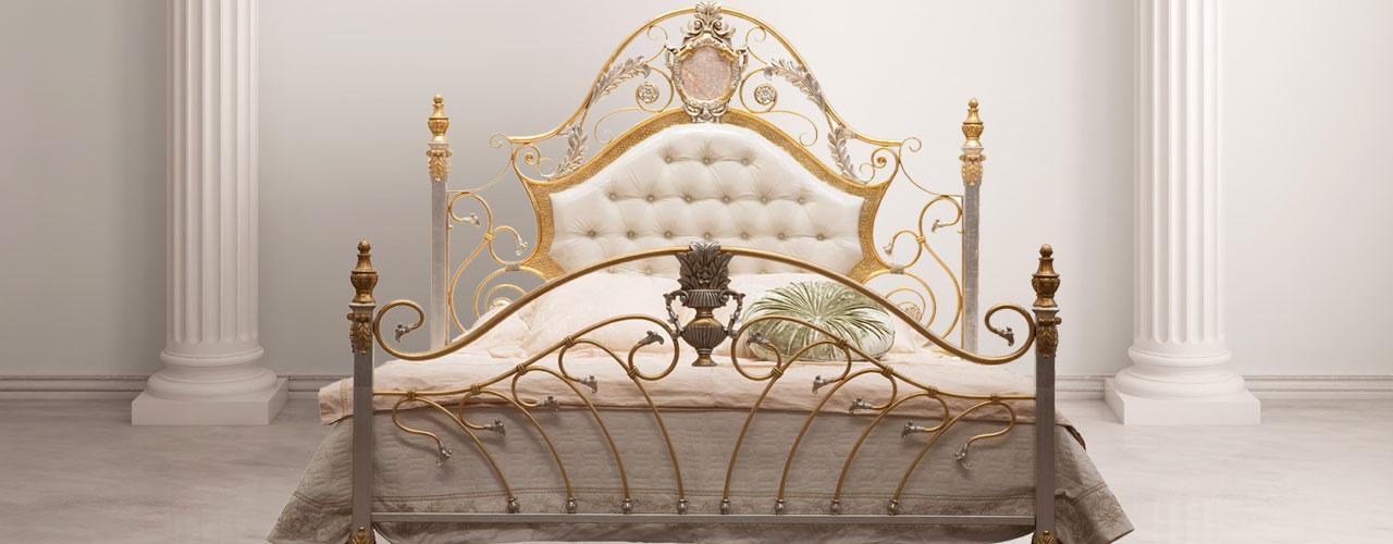 Design Betten - Landhaus Betten - Metallbetten - Luxus Betten - Messingbetten