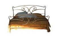 Design Bett - Betten  - Modell Les Beaux  - Metallbett  - Eisenbett - Landhaus Bett
