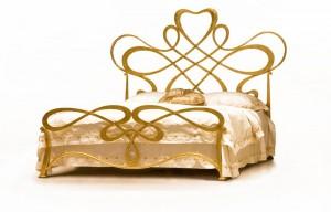 Design Bett - Betten - Modell Orléans - Metallbett - Eisenbett - Luxus Design Bett