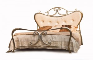 Luxus Design Betten - Bett - Modell - Monaco - Metall-Bett - Luxus Betten