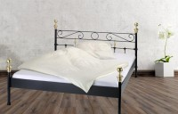 Iron Bed - Metall-Bett - Messing-Bett - Modell - Baron - Kanapee 2