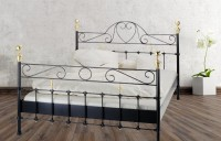 Iron Bed - Metall-Bett - Messing-Bett - Modell - Baronesse - Komplett