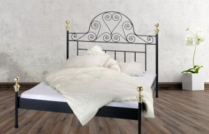 Iron Bed - Metall-Bett - Messing-Bett - Modell - Corazon - Kanapee 2