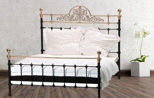 Iron Bed - Metall-Bett - Messing-Bett - Modell - Granada - Imperia - Komplett