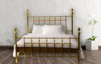 Luxus Design Messing-Bett - Modell - Granada - Princess - Komplett
