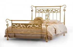 Luxus Design Betten - Bett - Modell - Palais - Metall-Bett - Luxus Betten