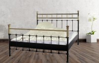 Iron Bed - Metall-Bett - Messing-Bett - Modell - Toledo -Var. 2 Komplett