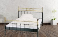 Iron Bed - Metall-Bett - Messing-Bett - Modell - Toledo -Var. 6 Komplett